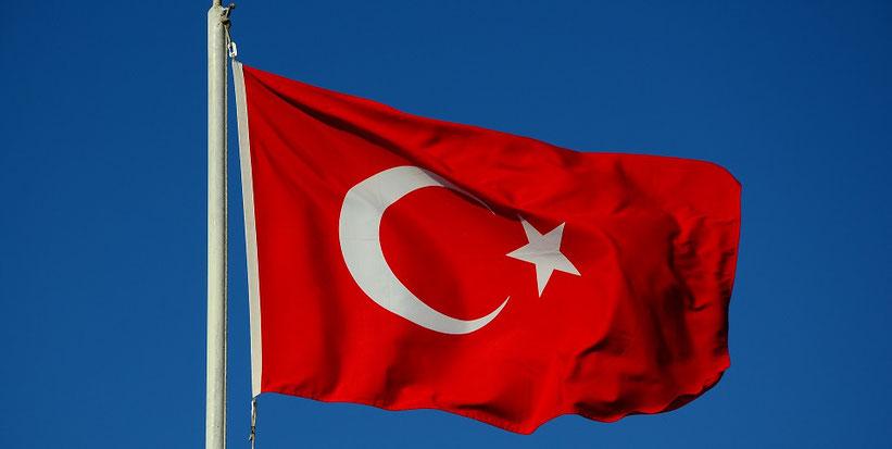 Türkei Saddam Hussein Gaddafi USA Amerika Flagge
