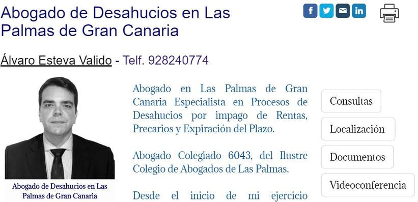 Abogado de Desahucio en Las Palmas de Gran Canaria