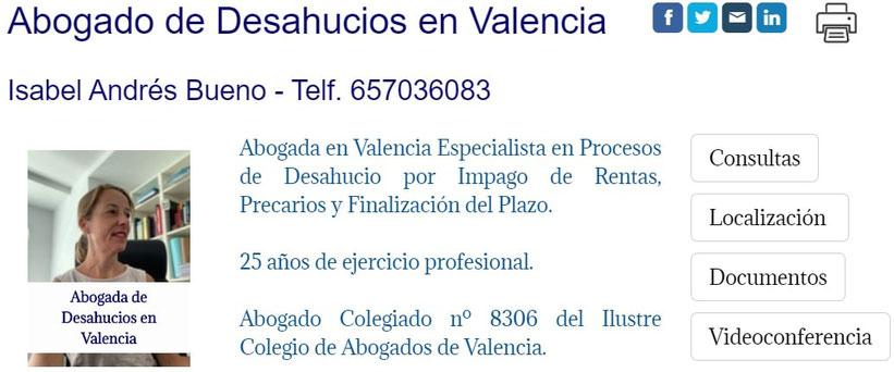 Abogada de Desahucios en Valencia