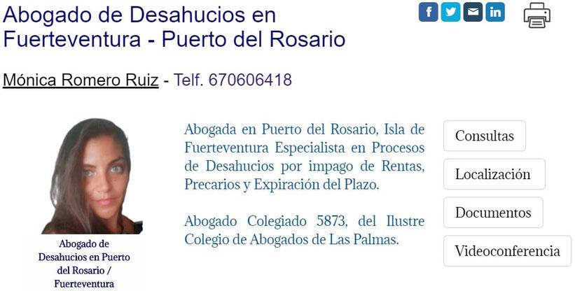 Abogada de Desahucios en Fuerteventura - Puerto del Rosario