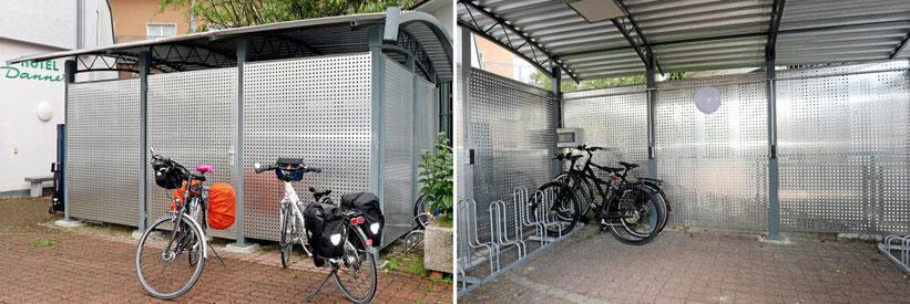 Fahrradraum abschliessbar