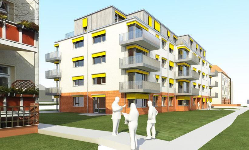 bauzeitberlin bauleitung neubau mehrfamilienhaus berlin-bohnsdorf