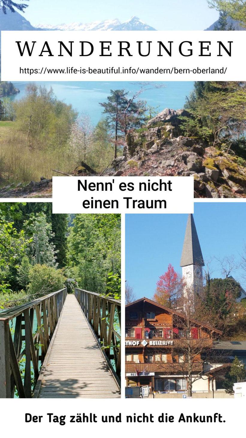 Wandern im Berner Oberland
