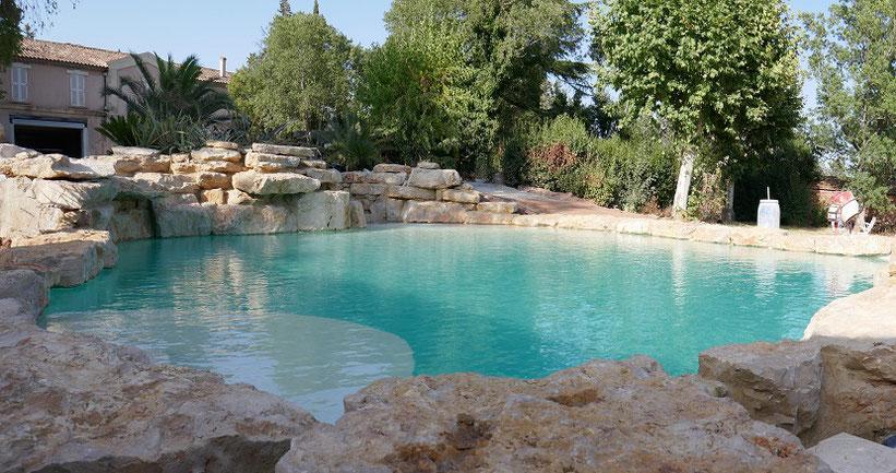 prix piscine rochers
