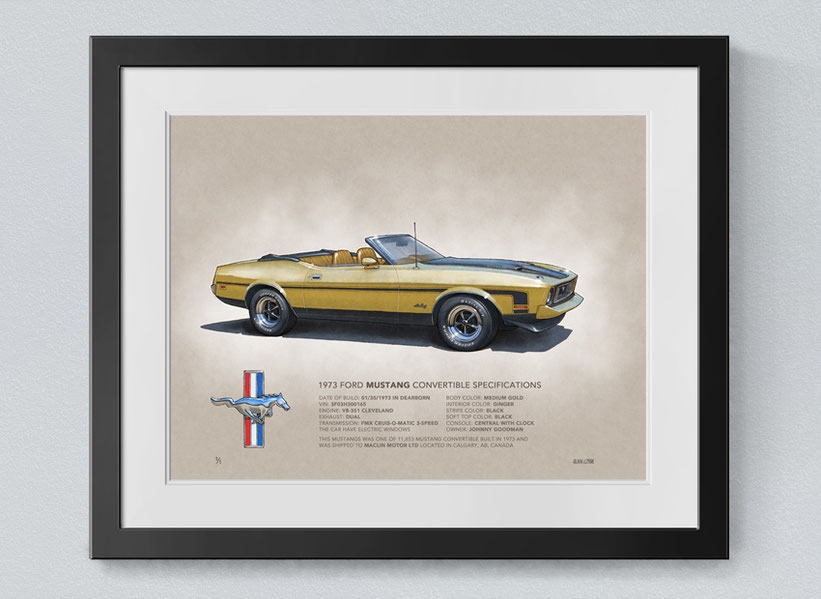 Mustang Convertible 1971 1972 1973