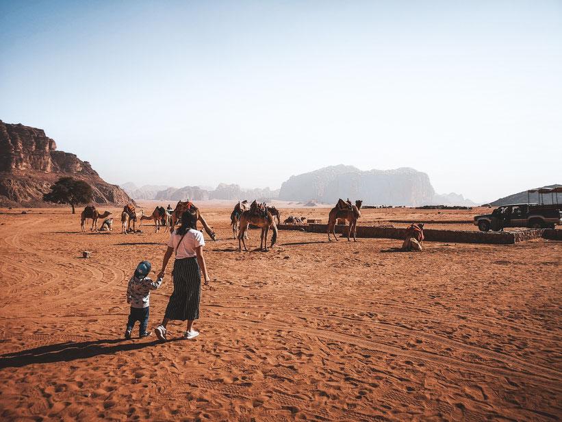 Jordanien Wadi Rum Kind Reise