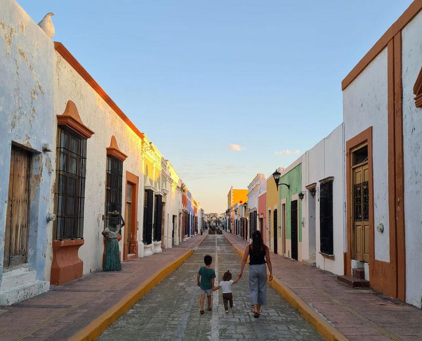 San Franzisco de Campeche Mexico Kleinkind Kind