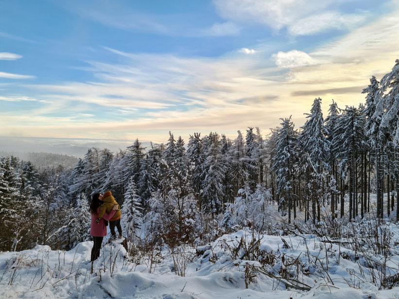 Winter Wonderland auf der Hohen Wand in Niederösterreich