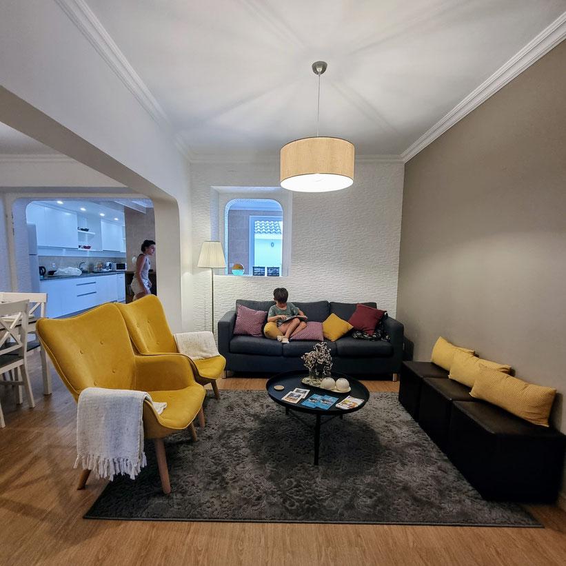 Apartment Furnas Azoren Kleinkind Kind
