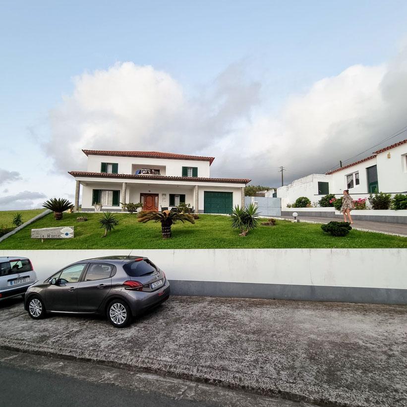 Auto Azoren Sao Miguel Kleinkind Kind Familie