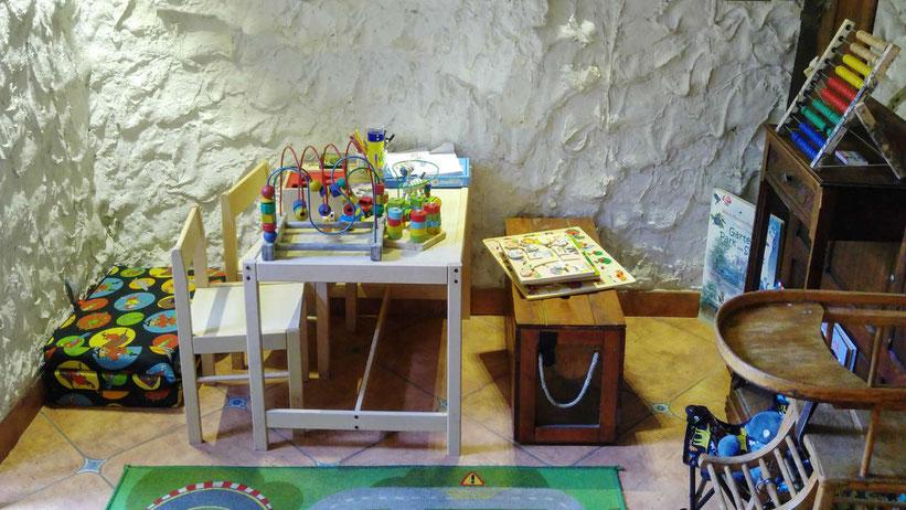 Landhaus Börnicke Spielecke für Kinder