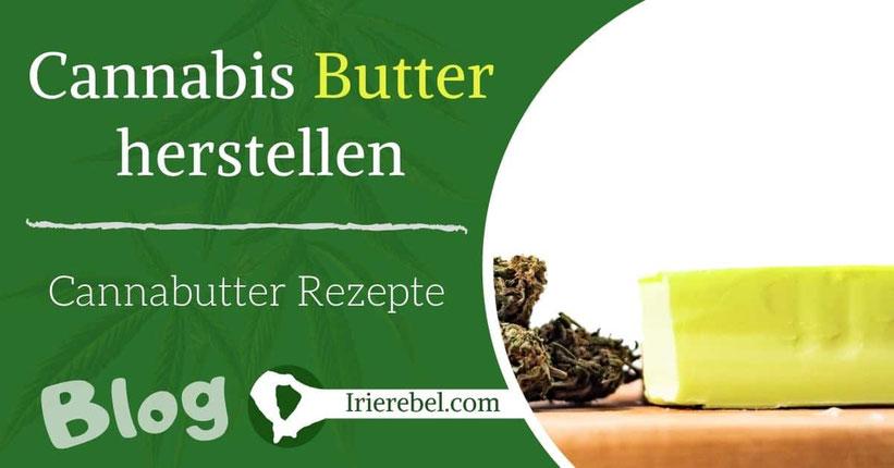 Cannabis Butter herstellen - Cannabutter selber machen (Rezepte)