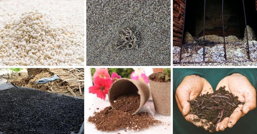 Düngemittel und Nährstoffe für die Erde im Freien