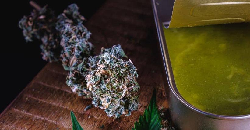 Cannabis Butter Grün