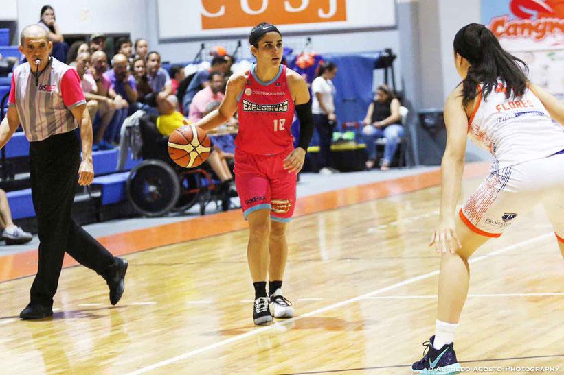 Ashley Torres se lució con 20 puntos, nueve rebotes y ocho asistencias en la victoria de su equipo en la acción dominical / foto por BSNF
