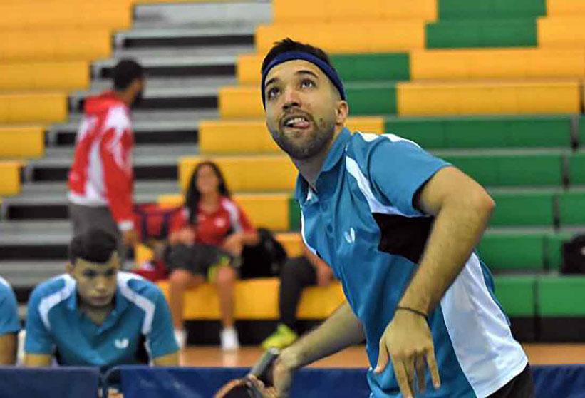 """Hermanos González y la UNE buscan el """"three peat"""" en tenis de mesa / foto por L.-Minguela LAI"""