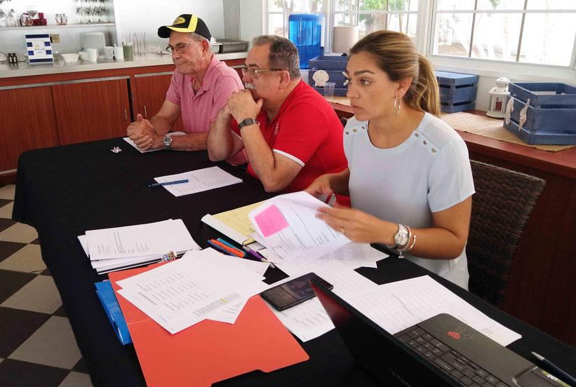 La Licenciada Santaella Santé explicó que de surgir un séptimo partido, de ganar Juncos el sexto encuentro,  se va a celebrar luego de que la selección regrese del Campeonato NORCECA en Canadá / Foto por FPV