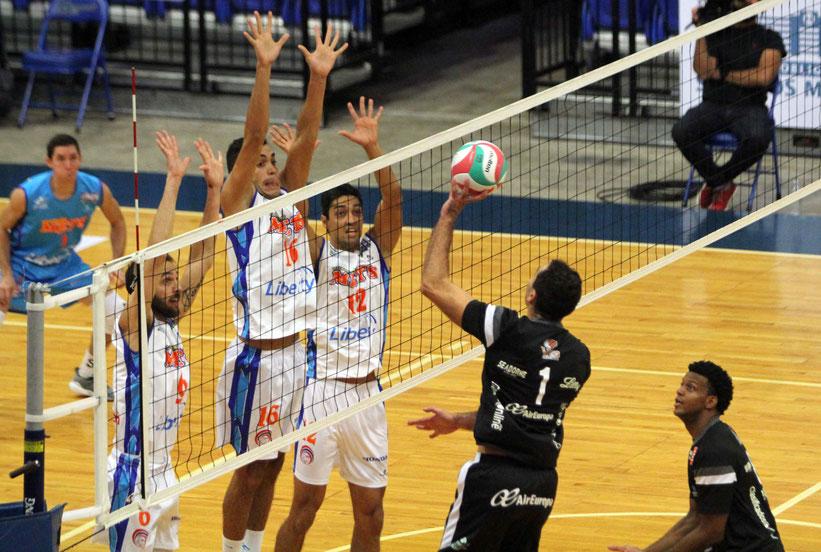 El torneo de voleibol masculino fue cancelado por falta de equipos participantes para realizar un itinerario competitivo / foto por Heriberto Rosario Rosa