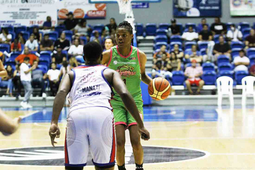 Courtney Williams de las Santeras de Aguada en el BSNF / Foto por BSNF