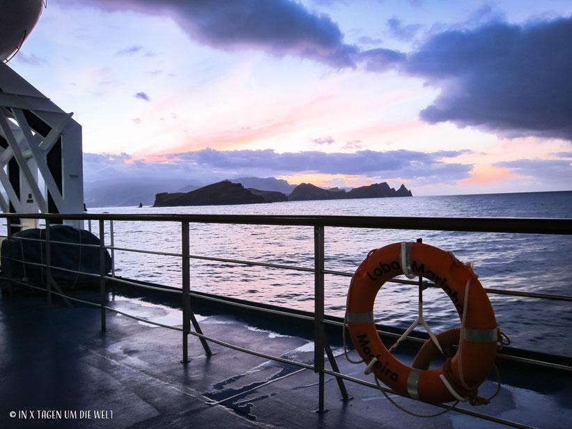 Atlantik, Fähre, Madeira