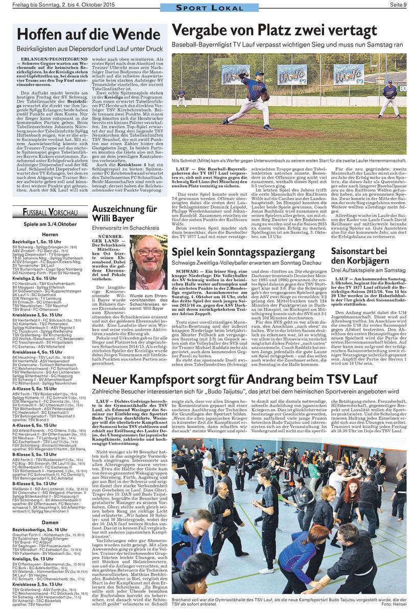 Bujinkan Dojo Wakagi Lauf Eröffnungsseminar im TSV Lauf