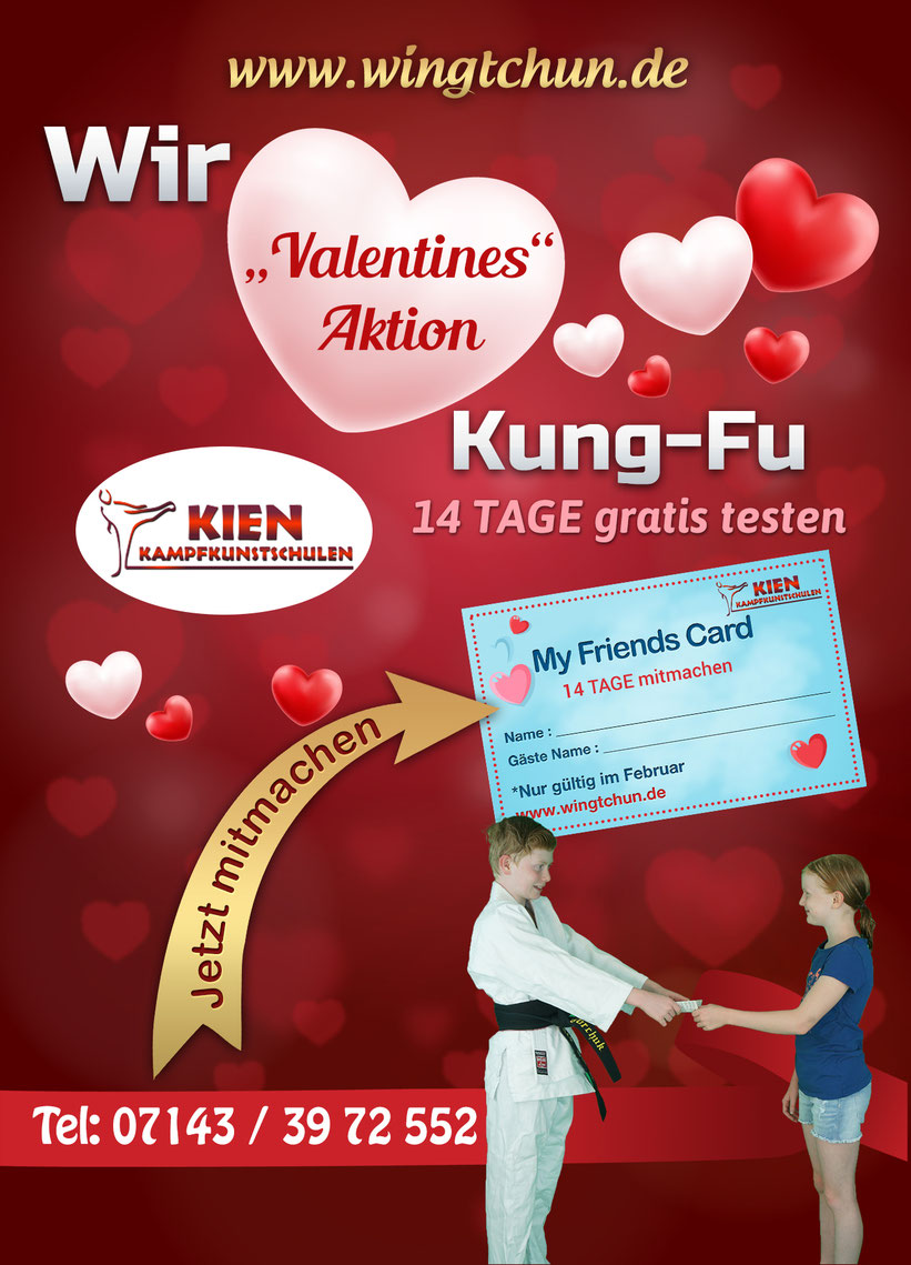 Valentinstag Kampfsport Kinder Ludwigsburg Hemmingen Waiblingen 4