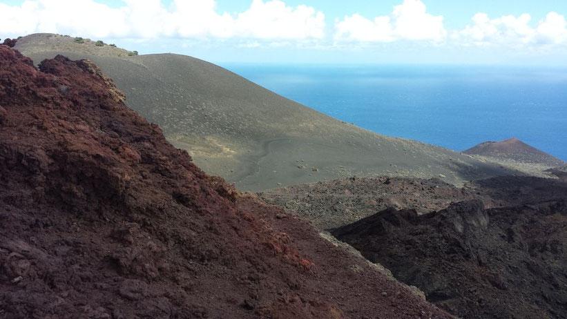 Vulkanwandern Volcánes de Teneguía, La Palma
