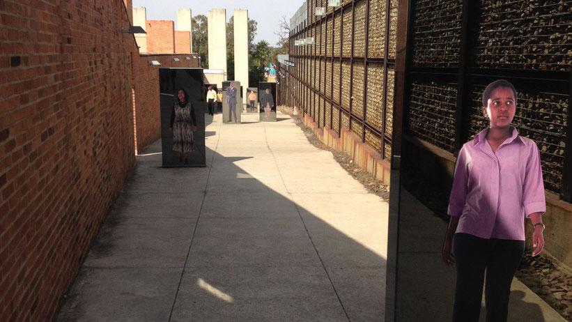 Apartheids-Museum in Johannesburg, Südafrika