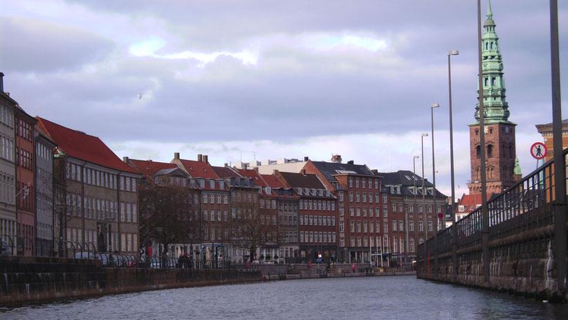 Kanalrundfahrt in Kopenhagen, Dänemark