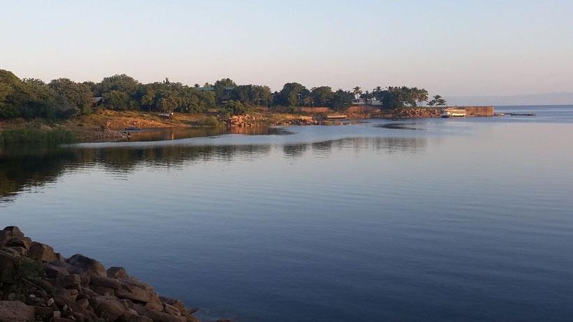 Kariba-Stausee (Lake Kariba), Sambia