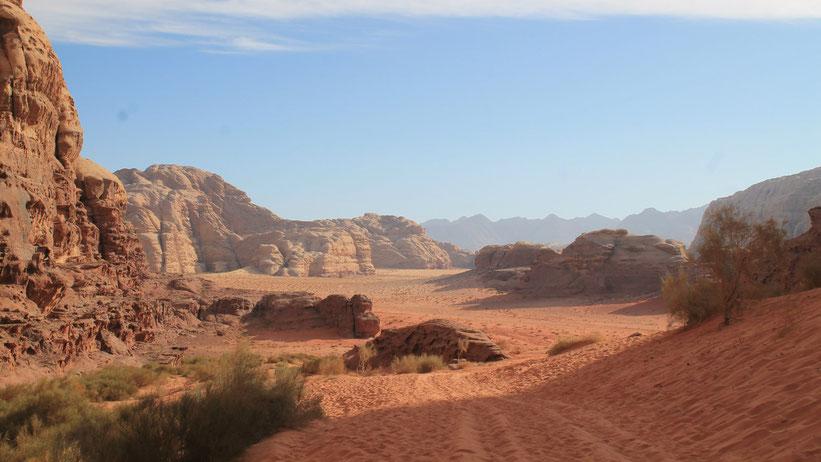 Wüstentour durch das Wadi Rum, Jordanien