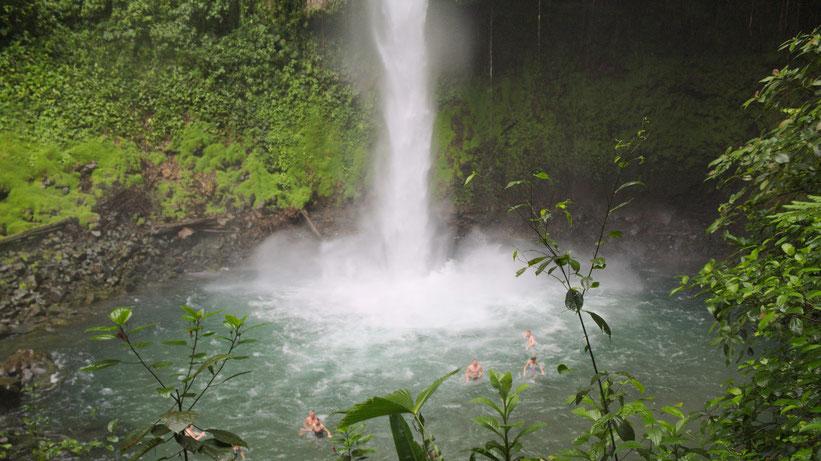 La Fortuna Wasserfall, Costa Rica