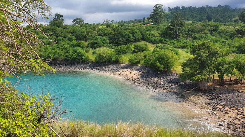 Lagoa Azul, São Tomé
