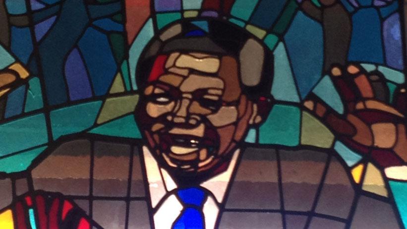 Regina Mundi Church, Soweto, Südafrika