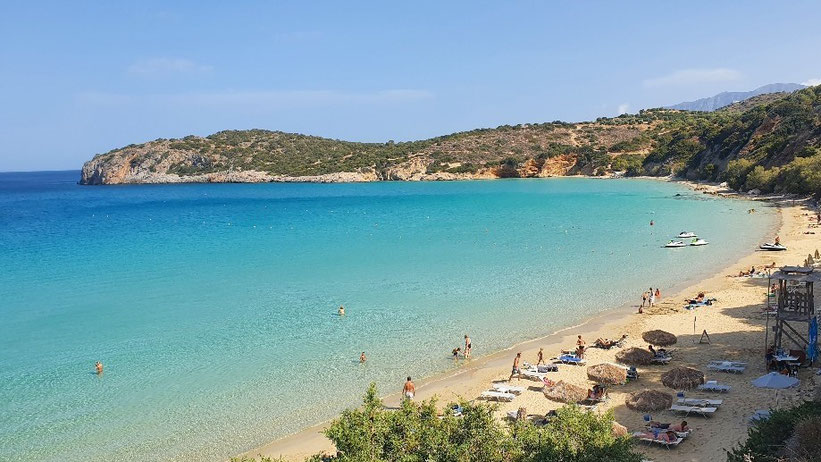 Voulisma Beach, Kreta