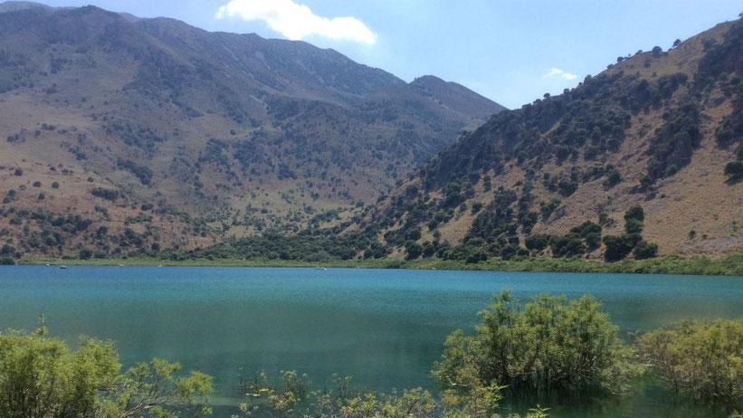 Kournas-See (Lake Kournas), Kreta