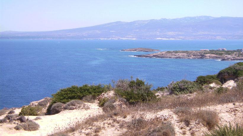 Cappo Mannu nach San Milis, Sardinien