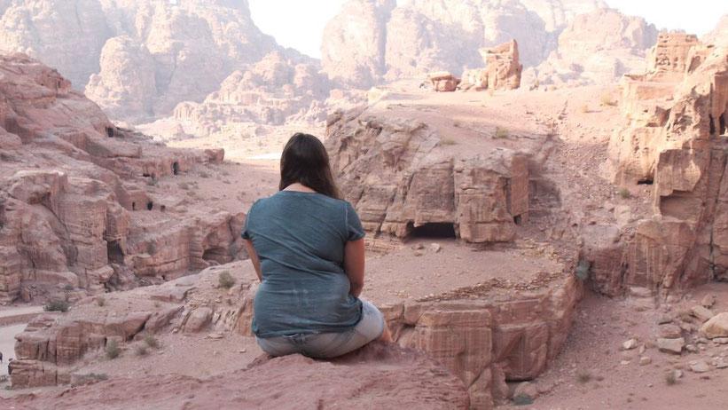 Jabal Attuf, Petra, Jordanien