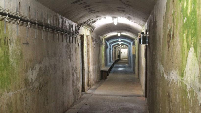 Bunkerführung auf Helgoland