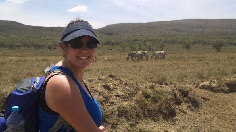 Fahrradtour durch den Hell's Gate Nationalpark, Kenia