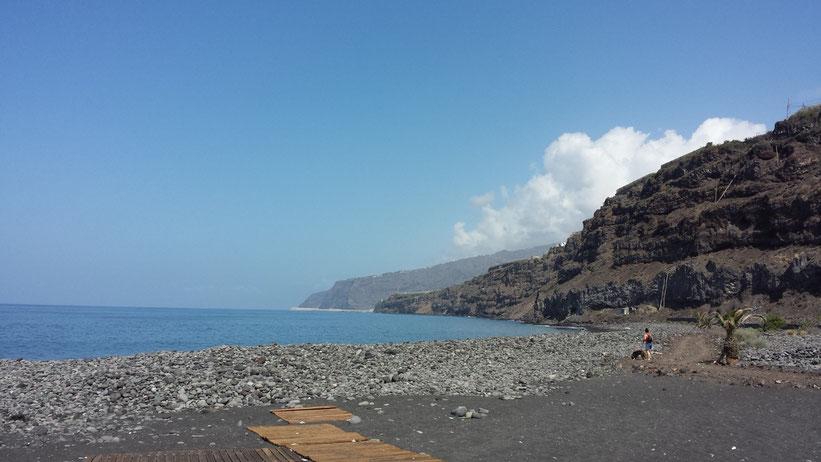 Playa la Bombilla, La Palma