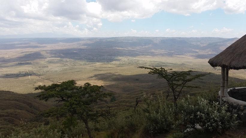 Vulkanwandern Mount Longonot, Kenia