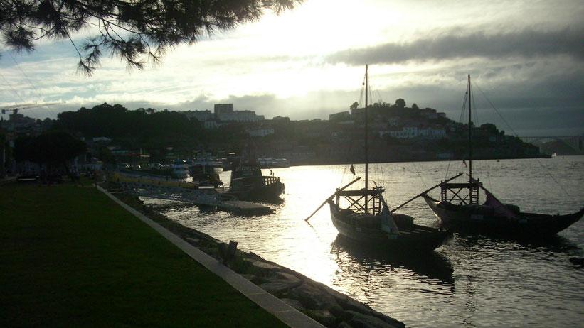 Bootsrundfahrt in Porto, Portugal
