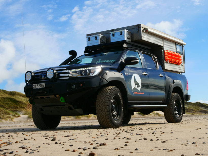EXKAB Wohnkabine Toyota Hilux arctic trucks At33 At35 expeditionoverland truck Revo N80 2017 2018 2.8 #ProjektBlackwolf offroad Pick up camper Drive Your own Way AFN4x4Rival4x4 bfgoodrich t/a ko2 285/70R17 ltprtz DL0011-C Explore Without Limits