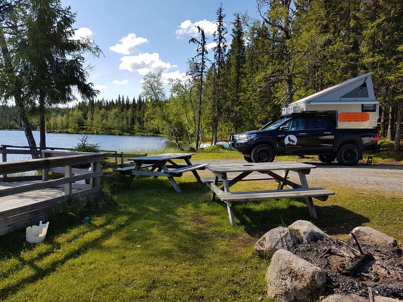Norwegen overland Travel Camping #ProjektBlackwolf See Skandinavien wolf78  explore without no limits roadtrip offroad Overlandingnomads EXKAB wolf78-overland.ch
