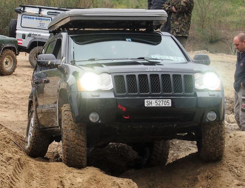 Verschränkung Jeep Grand cherokee offroad 4x4 wolf-78.jimdo.com