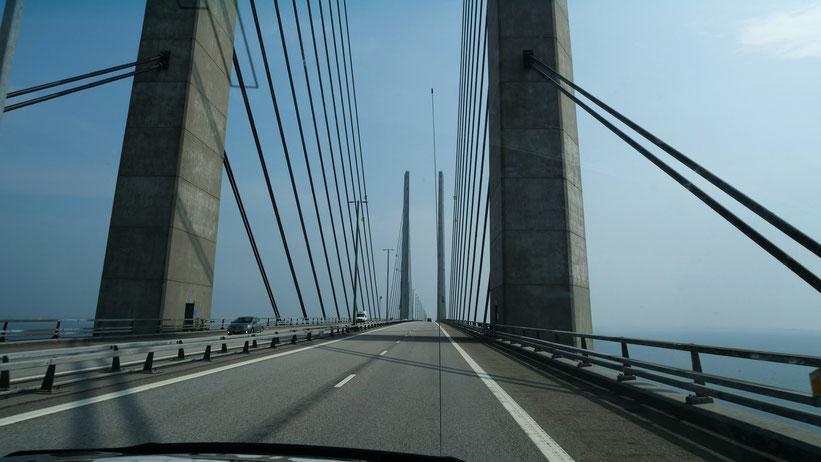 Öresund Brücke Dänemark Schweden Skandinavien #NordkappUndZurück #Driveyourownway #explorewithoutnoimits