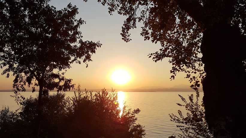 Sonnenuntergang Fosallta Camping Italien Lazise Gardasee overland Travel #ProjektBlackwolf wolf78  explore without no limits roadtrip offroad Overlandingnomads Dachzeltnomaden wolf78-overland.ch