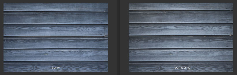 Sony 85mm 1.4 GM, vs. Samyang AF 85mm 1.4 FE, Vignette, Farbwiedergabe
