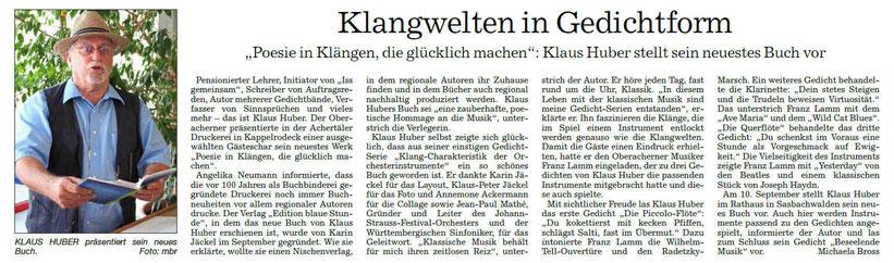Zeitung  Acher-Bühler-Bote